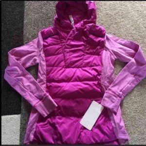 Lululemon Fluff Off Pullover Ultraviolet size 8